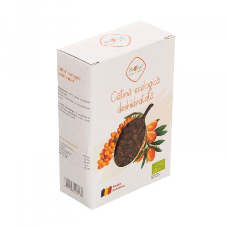 Fructe deshidratate de catina ecologice - produs deshidratat 100g [3]