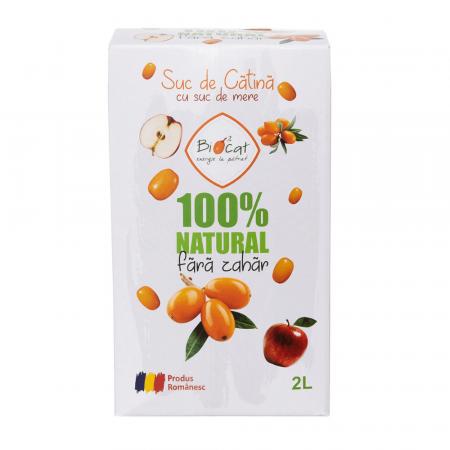 Suc de Catina cu suc de mere - produs pasteurizat 2l [1]
