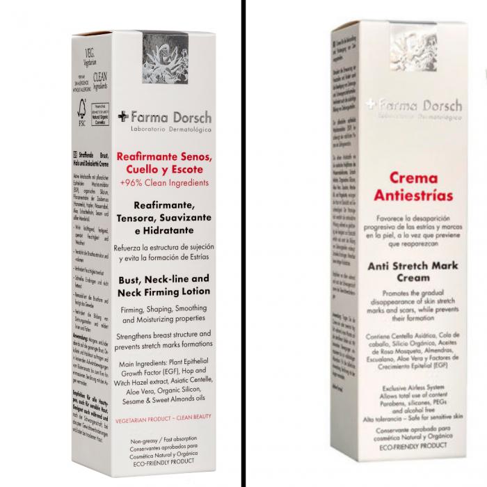 Cremă antivergeturi Farma Dorsch+ Cremă pentru fermitatea sânilor Farma Dorsch [0]