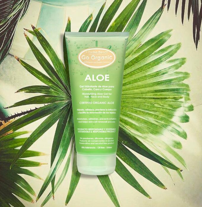 Gel Aloe Vera Organic pentru piele  și păr [2]