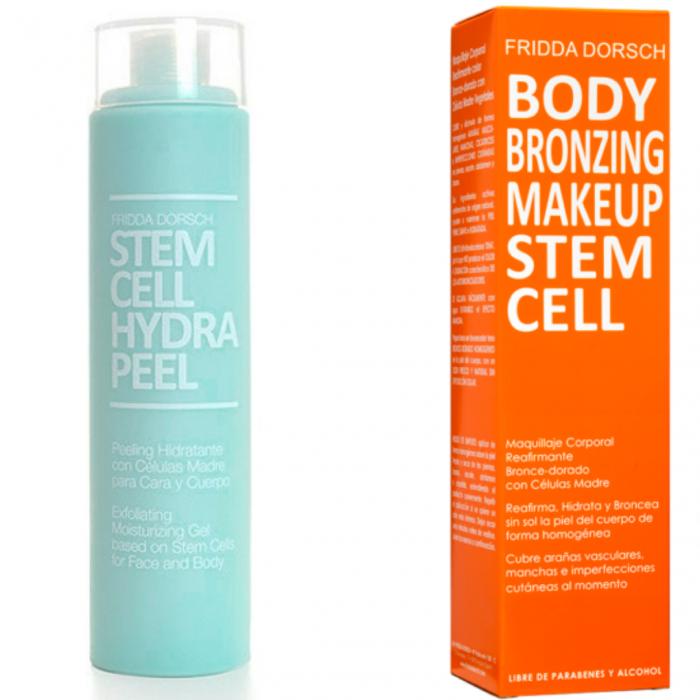 Peeling hidratant Hydra Peel+ Cremă autobronzantă cu tratament pentru fermitate [0]