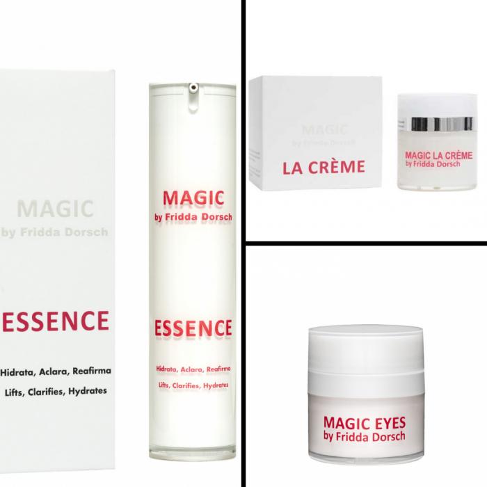 Tratament intensiv anti age Magic La Creme + Magic Eyes+ Ser Magic Essence [0]