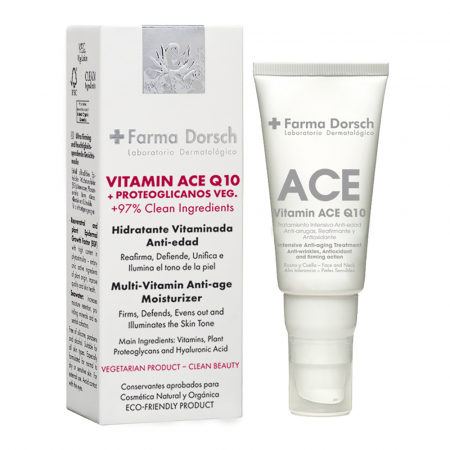 Cremă hidratantă cu tratament antioxidant Vitamine A, C, E +Q10 [0]