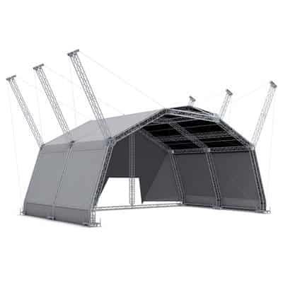 BAT Roofs 18x12m - Scena modulara 18x12m cu inaltime de 10m [0]