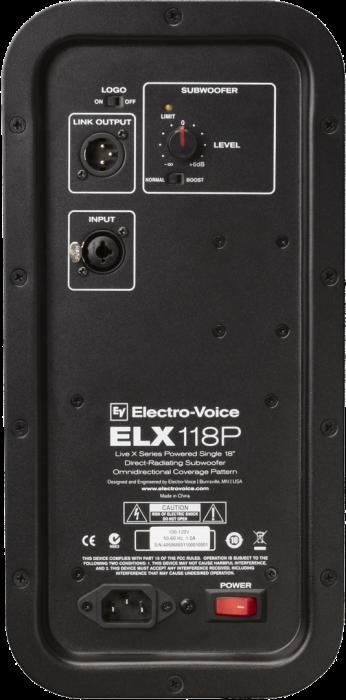 ELX 118P - Subwoofer activ [5]