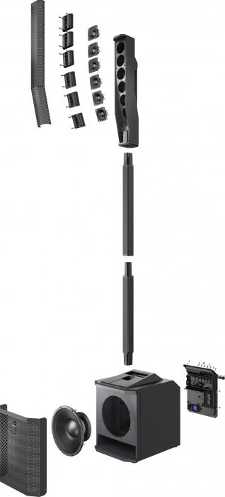 EVOLVE 30M BK - Sistem portabil tip coloana [4]