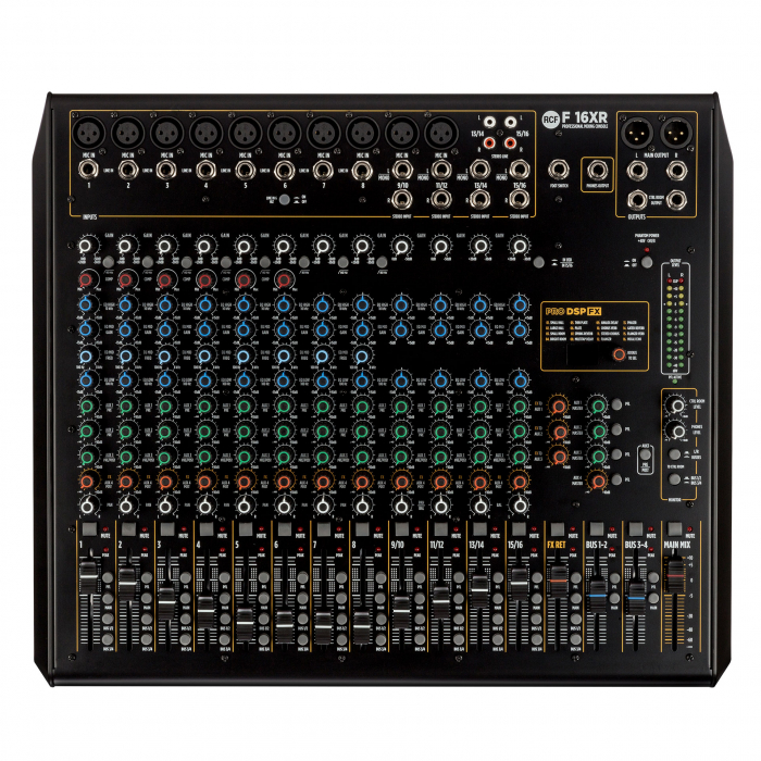 F 16XR - Mixer Analogic [6]