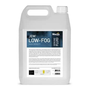 JEM Low-Fog Fluid, High Density - 5L - Lichid pentru efecte de fum greu [0]