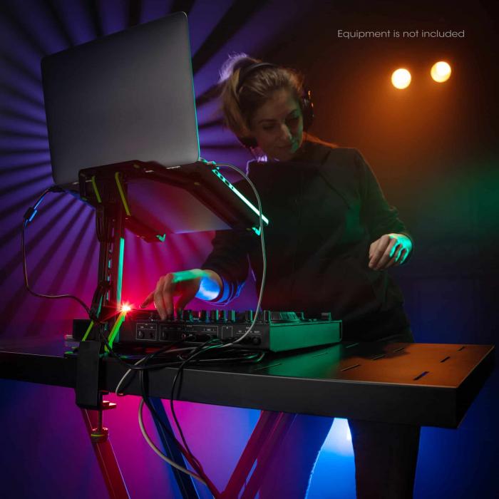 KSX 2 RD - Sativ de clape cu masă de DJ [11]