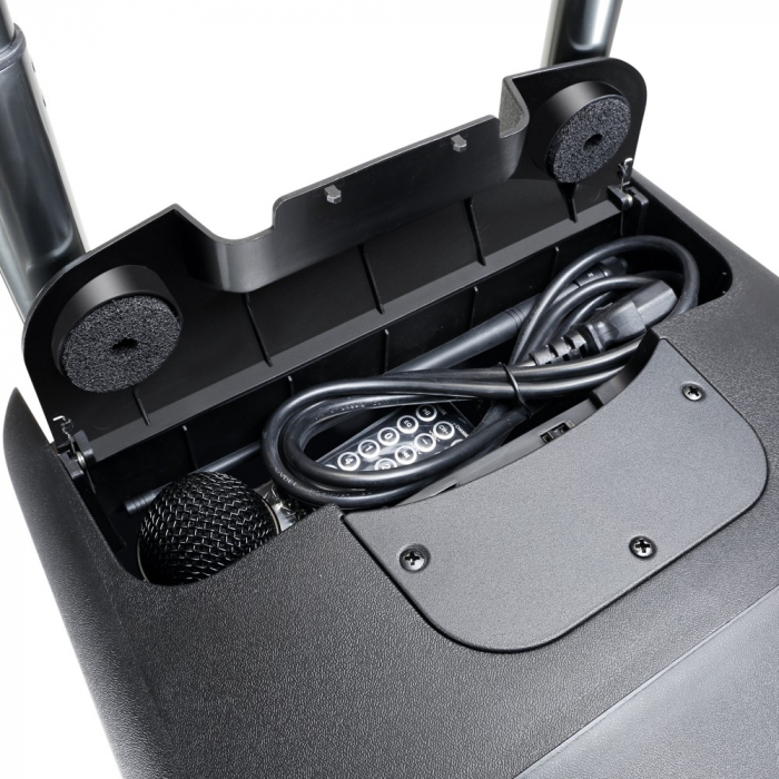 LDRBUD10HBH2B6 - Boxă portabilă cu Bluetooth și set de 2 microfoane wireless [3]