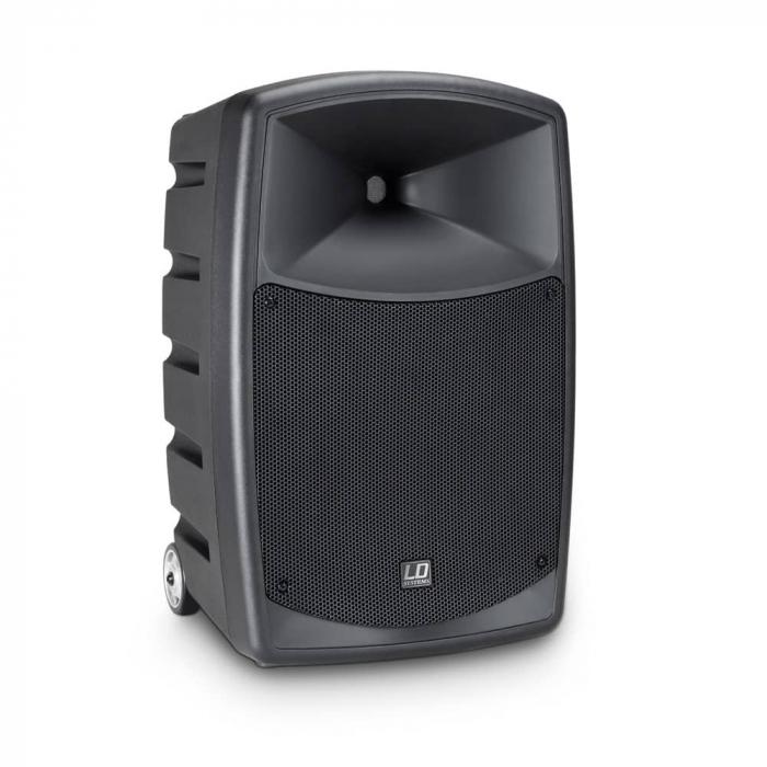 LDRBUD10HBH2B6 - Boxă portabilă cu Bluetooth și set de 2 microfoane wireless [7]