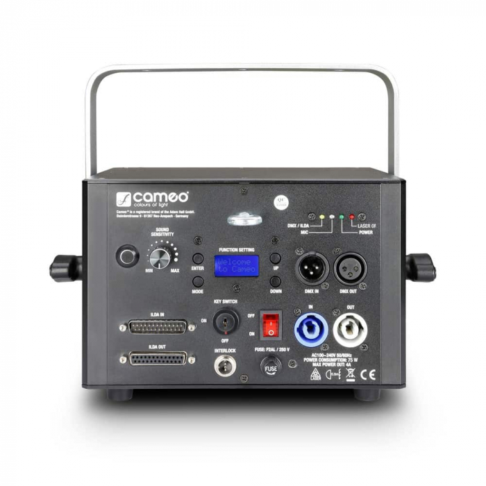 LUKE 1000 RGB - Proiector Efecte tip Laser 1000mW RGB [4]