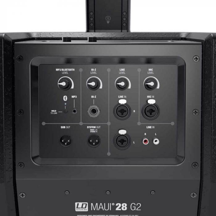 MAUI 28 G2 - Sistem tip coloană activă [8]