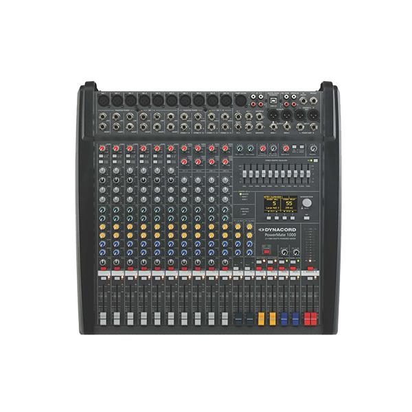 PowerMate 1000 3 - Mixer analogic cu putere incorporata [0]