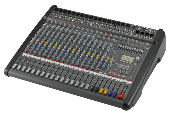 PowerMate 1600 3 - Mixer analogic cu putere incorporata [1]