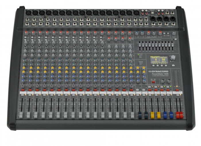 PowerMate 1600 3 - Mixer analogic cu putere incorporata [2]