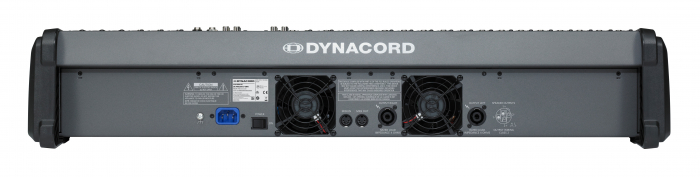 PowerMate 2200 3 - Mixer analogic cu putere incorporata [3]