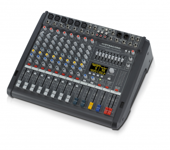PowerMate 600-3 - Mixer analogic cu putere incorporata [1]