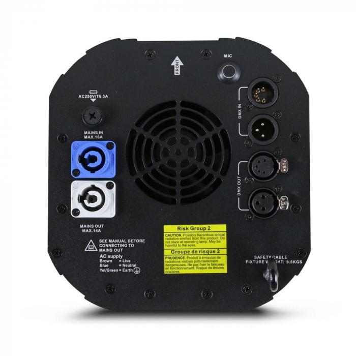 RUSH Scanner 1 LED - Proiector tip Scanner [1]