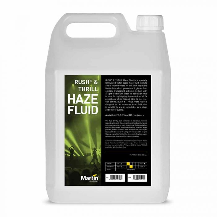 RUSH & THRILL Haze Fluid 5L - Lichid pentru efecte de ceață [0]