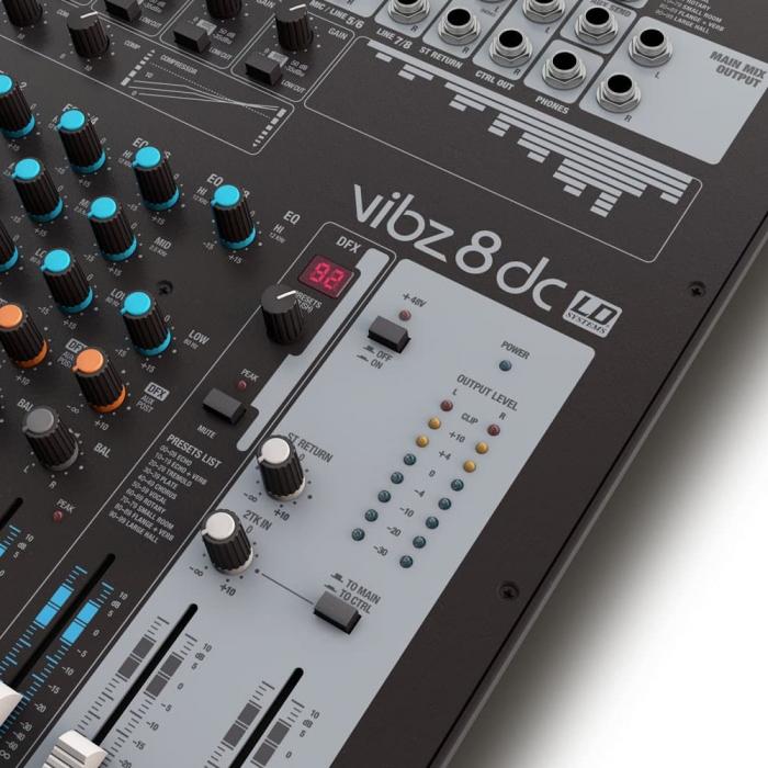 VIBZ 8 DC - Mixer analogic [5]