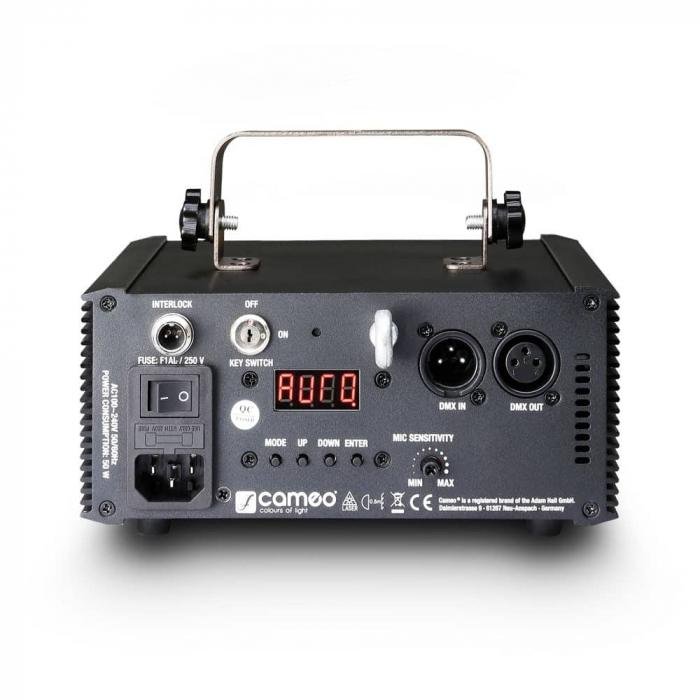 WOOKIE 200 RGY - Proiector Efecte tip Laser 200mW RGY [4]