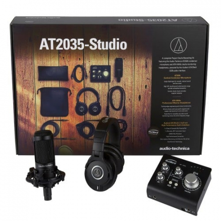 AT2035-Studio - Pachet complet pentru studio cu microfon, casti si interfata audio [0]