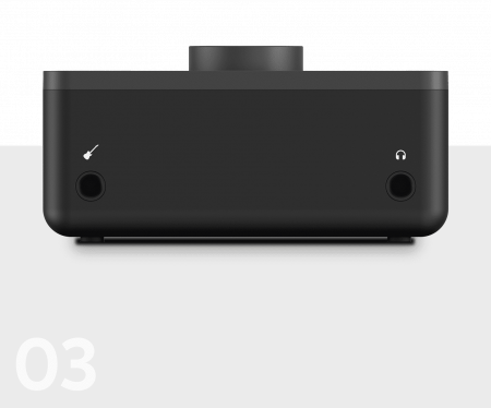 Pachet AT2020 cu stativ de masa, cablu microfon de 1m si interfata audio [12]