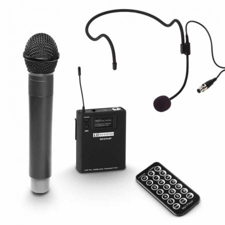 LDRBUD10HBH2B6 - Boxă portabilă cu Bluetooth și set de 2 microfoane wireless [2]