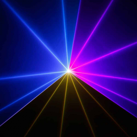 LUKE 1000 RGB - Proiector Efecte tip Laser 1000mW RGB [11]