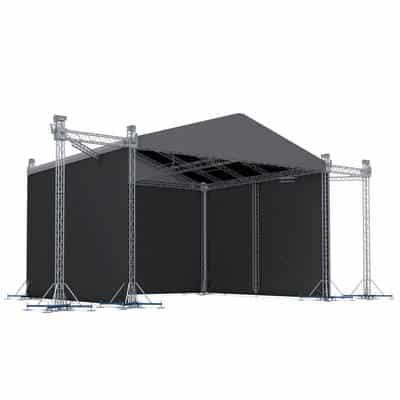 MR2 10x6m - Scena modulara 10x6m cu inaltime de 7,2m [0]