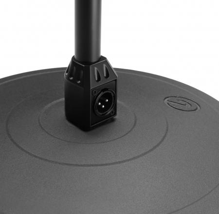 MS 23 XLR B - Stativ de microfon cu baza rotunda si conector XLR [4]