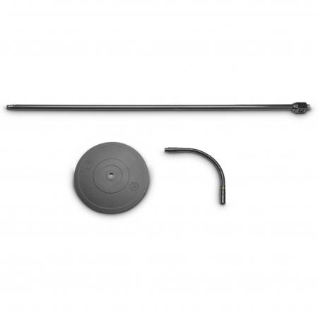 MS 23 XLR B - Stativ de microfon cu baza rotunda si conector XLR [2]