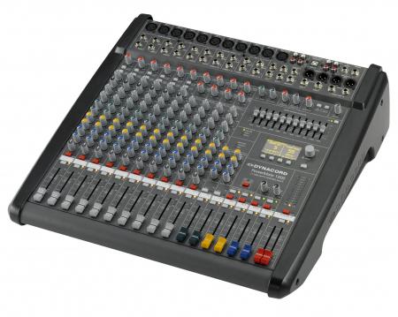 PowerMate 1000 3 - Mixer analogic cu putere incorporata [3]