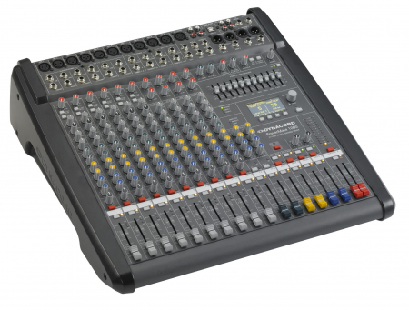 PowerMate 1000 3 - Mixer analogic cu putere incorporata [4]