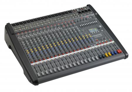 PowerMate 1600 3 - Mixer analogic cu putere incorporata [4]