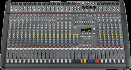 PowerMate 2200 3 - Mixer analogic cu putere incorporata [2]