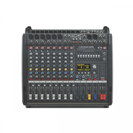 PowerMate 600-3 - Mixer analogic cu putere incorporata [0]