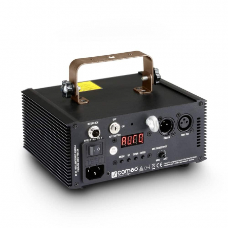 WOOKIE 200 RGY - Proiector Efecte tip Laser 200mW RGY [1]