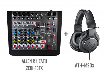 ZEDi10FX Bundle - Mixer analogic [0]
