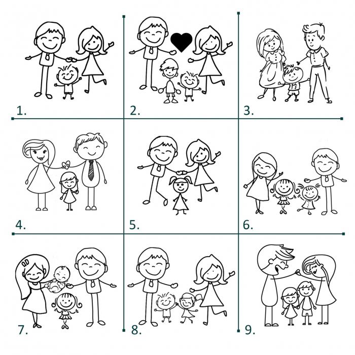 Brățară lată de piele cu mesaj Love Family [5]