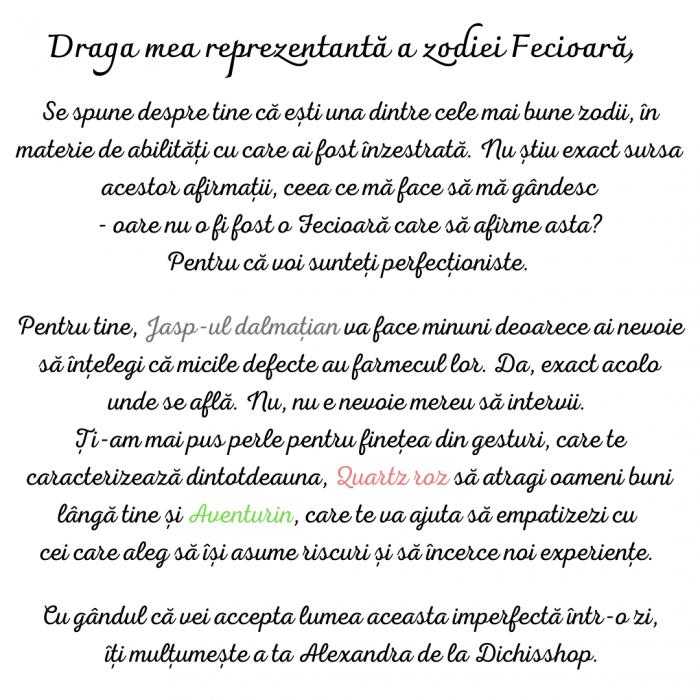 Fecioara - Lumanare Parfumata Si Bratara Semipretioasa - Pachet Cadou Zodie [1]