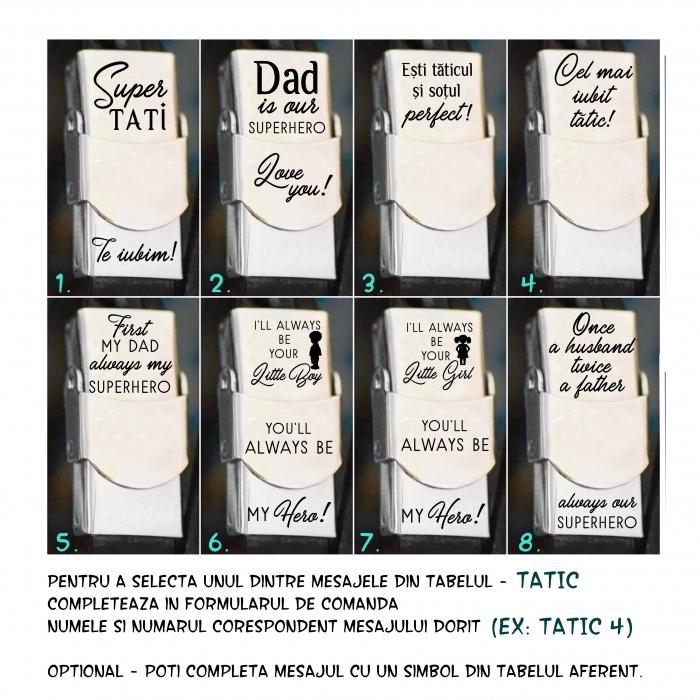 Frate|Tata|Nas|Unchi|Bunic|Fiu|Prieten - Bratara din piele cu mesaj (colorata) [13]