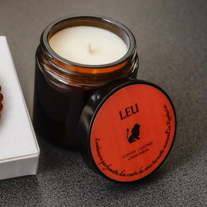 Leu - Lumanare Parfumata Si Bratara Semipretioasa - Pachet Cadou Zodie [3]
