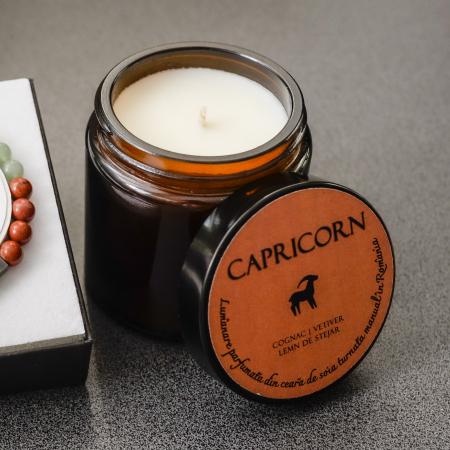 Capricorn - Lumanare Parfumata Si Bratara Semipretioasa - Pachet Cadou Zodie [3]