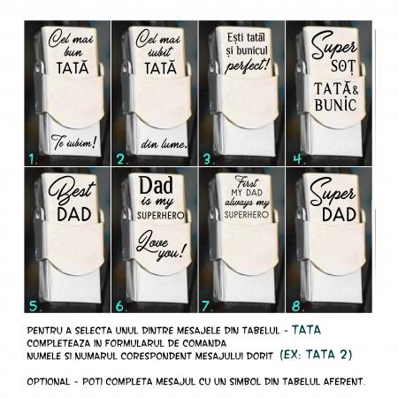 Frate|Tata|Nas|Unchi|Bunic|Fiu|Prieten - Bratara din piele cu mesaj (colorata) [7]
