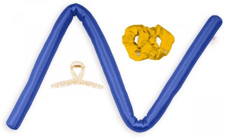 Set Ondulator de par DivineCurls, BLUE, cu cristale Swarovski [2]