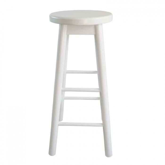 Scaun din lemn BAR alb [1]