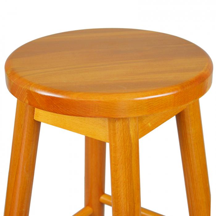 Scaun din lemn BAR cires [2]