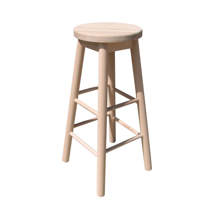 Scaun din lemn BAR crud [0]